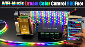 How To Connect Dream <b>Color Music WiFi Controller</b> To <b>Control</b> ...