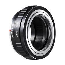 K&F Concept <b>M42 Lenses</b> to <b>M43</b> MFT <b>Mount</b> Camera <b>Adapter</b>