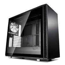 <b>Fractal Define S2</b> Black Tempered Glass Midi PC Gaming Case ...