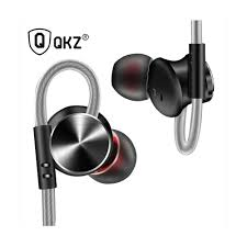 QKZ DM10 Zinc Alloy <b>HiFi Metal</b> In Ear <b>Earphone</b> | E-valy Limited ...