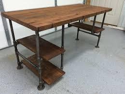 reclaimed wood desk computer desk table rustic by berusticco build rustic office desk