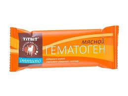 <b>Лакомство</b> для собак <b>Titbit для</b> любых пород гематоген с мясом 35 г