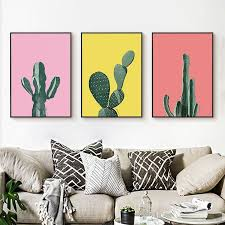 <b>Canvas</b> Modern Cactus Art <b>Poster</b> | Store - Decor & Home Goods in ...