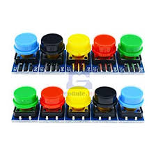 <b>Big Key</b> Push Button 12x12mm Light Touch Switch w/ Hat Output ...