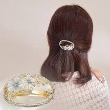<b>CHIMERA</b> Women Vintage <b>Hair</b> Barrette Elegant <b>Crystal Flower Hair</b> ...