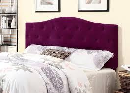 purple headboard purple fabric upholstered headboard caf pr