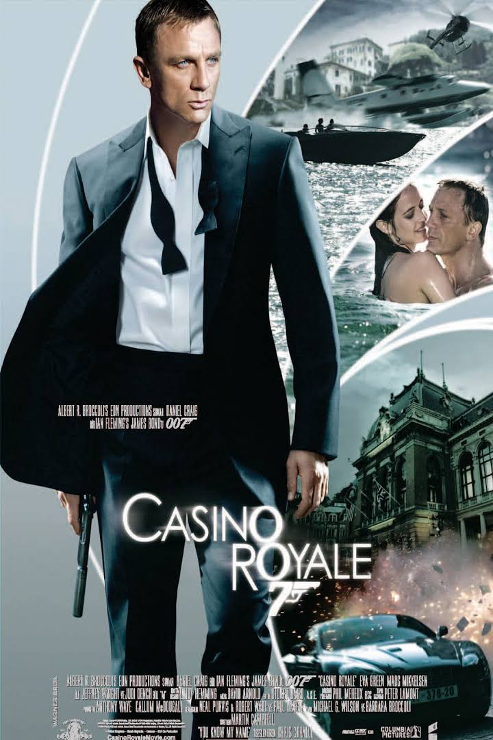 James Bond Casino Royale (2006) in Dual Audio Dubbed {Hindi-English} | 480p | 720p