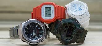 Гид: различие моделей <b>Casio G-SHOCK</b>
