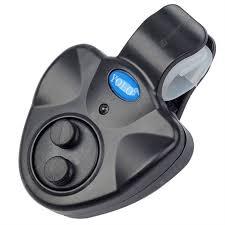 <b>Fishing</b> Bite Alarm Electronic Finder Alert Bell LED <b>Light Clip</b> On ...
