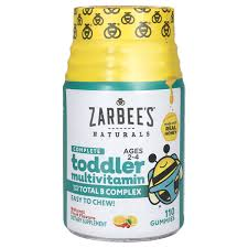 Zarbees Naturals <b>Toddler Complete MultiVitamin 110</b> Gummies ...