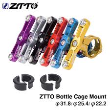 <b>ZTTO</b> MTB Road <b>Bike</b> Double Head Bottle Cage Extender <b>Aluminum</b> ...