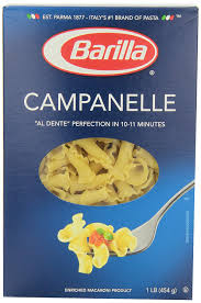 com barilla pasta campanelle ounce pack of  com barilla pasta campanelle 16 ounce pack of 12 italian pasta grocery gourmet food