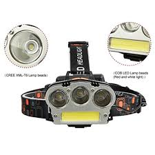 Zantec USB Charging T6+COB <b>LED Strong Light Headlight</b> Fishing ...