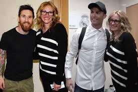 Cristiano Ronaldo & Messi & Julia Roberts