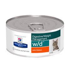 <b>Влажный диетический корм Hill's</b> Prescription Diet w/d для кошек с ...