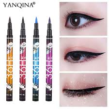 YANQINA 36H <b>Black</b> Waterproof <b>Liquid Eyeliner</b> Make Up <b>Beauty</b> ...