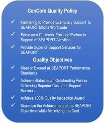quality assurance program cencore engage analyze enable capture2