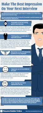 make the best impression on your next interview visual ly make the best impression on your next interview infographic