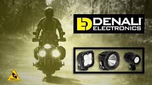 Denali <b>LED Motorcycle Auxiliary Lighting</b> from Twisted Throttle ...