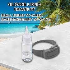 <b>Reusable Wristbands Hand Sanitizer</b> Dispensing Portable Bracelet ...