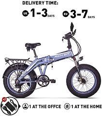 Unknown <b>Rich BIT RT016</b> 48V*500W Electric Bike MTB 20 Inch ...