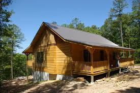 oak log cabins: the buffalo cabin near hasty ar