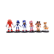 5Set/lot (<b>6Pcs</b>/<b>Set</b>) Sonic <b>9cm</b> Game Sonic Toys Action Figure ...