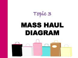 topic  mass haul diagramtopic mass haul diagram