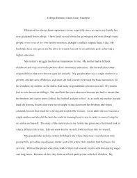 College Essays College Application Essays High School Admission     Brefash