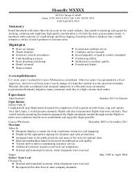 project team specialist resume example  best buy    seattle    featured resumes