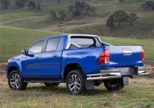 <b>Защита заднего бампера d76</b>/d42 уголки | Toyota Hilux 2015-2021 ...