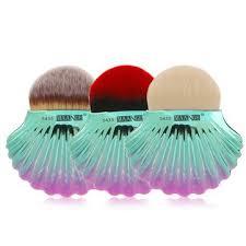 <b>1pc</b> big shell <b>powder brush</b> foundation <b>makeup brushes</b> at ...