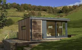 garden shed home offices sprouting up in uk treehugger backyard home office pod