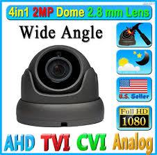 LEXAcctv 4in1 <b>HD 2MP 1080P</b> 2.8mm TVI AHD CVI CCTV Dome ...