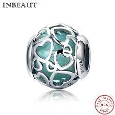 <b>INBEAUT 925</b> Sterling <b>Silver</b> Love Charm Pendants Fit Pandora ...