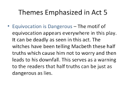 major themes in macbeth essay topic   homework for youequivocation in macbeth essay topics