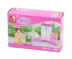 """Конструктор <b>Sluban</b> """"<b>Трюмо принцессы</b>"""", серия """"Розовая мечта ..."""