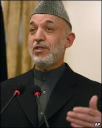 Hamid Karzai has long supported a broad-based government - _46579861_008149345-1