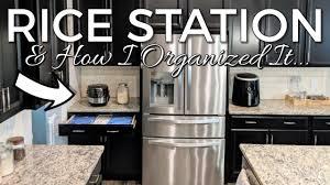 How I Organized my <b>Rice</b> Station-Kitchen Organization Ideas ...