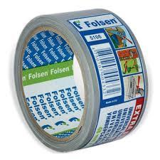 Универсальная <b>Folsen</b>, <b>48мм</b> x 10м, серая, 240мк тканевая ...