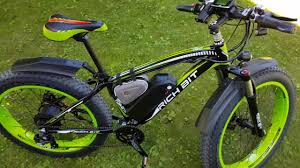 Overview of the <b>Rich Bit RT-022</b> 48V 1000W Fat E-Bike - YouTube