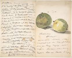 <b>Edouard Manet</b> | A Letter to Eugène Maus, Decorated with Two ...
