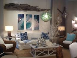 coastal themed furniture nicki slipcovered sofa montaul driftwood wall art beach style bedroom furniture