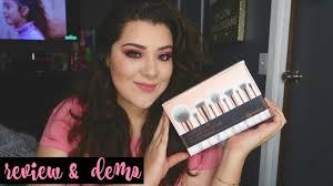 10 pcs set marble handle makeup brush set powder foundation eyeshadow lip eyeliner brushes women cosmetic kit tools