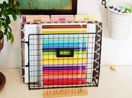 kitchen cabinets home office transitional:  home office hacks to get you organized now