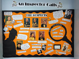 best ideas about an inspector calls revision an bulletin board classroom display high school english reading an inspector calls