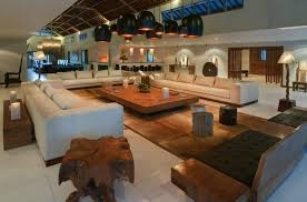 luxurious vacation villa with amazing view villales rizieres for large living room wooden table white big living room furniture
