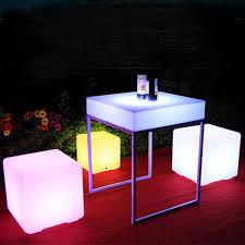 2019 <b>LED Side Stool Lamp</b> Cube Outdoor IP68 Lights 80cm Lamp ...