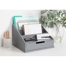 Shop Kate and Laurel Francesca <b>Wood Desktop</b> Office <b>File</b> Holder ...
