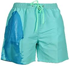 MorwenVeo <b>Mens Color-Changing Beach</b> Swim Trunks ...